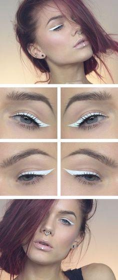 Todays look – White eyeliner   Lindas Sminkblogg   Bloglovin'