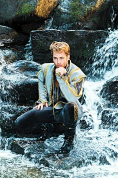 If you haven't seen it yet, then you definitely want to.  Disney Prince Chris Pine!