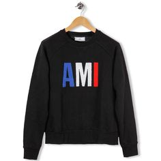 Here's a Round Neck Sweatshirt AMI by AMI - Alexandre Matiussi