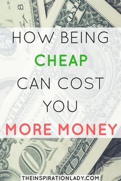 I love saving money as much as the next gal! But sometimes trying too hard to save money can actually cost you more. Here are some ways that this can happen!