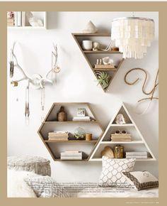 Cute shelves, look easy to make