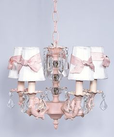 beautiful-great for a fancy baby girl's room.  From Zulily