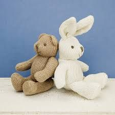 Image result for knitted toys #knittedtoys #knitting #knit #knittedrabbits