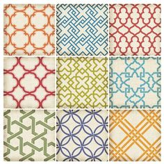 I pinned this 9 Piece Geo Tiles Wall Decal Set from the Colorful Coop event at Joss and Main!