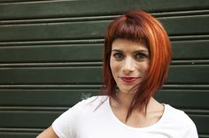 assymetric haircut with color.id /wella, by sabine for wip-hairport lisbon