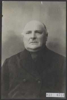 Hendrik van de Poll sr., lid van de gemeenteraad en wethouder van Putten in 1921.