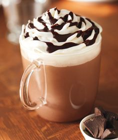 I love hot chocolate on a chilly day, with extra whipped cream, please!