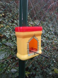 Sadaqha pour les oiseaux ! mangeoire palais pour oiseaux
