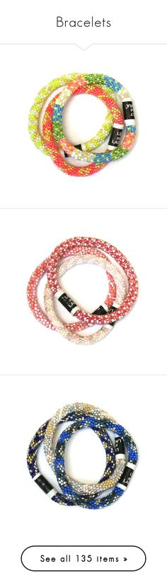 """Bracelets"" by mac-moses ❤ liked on Polyvore featuring jewelry, bracelets, fair trade jewelry, pink bangles, bridal jewelry, christmas jewelry, pink bridal jewelry, birthday jewelry, bride jewelry and sports jewelry"