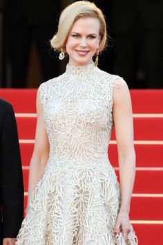 Nicole Kidman in Valentino at Cannes