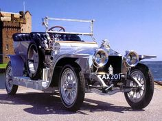 Rolls-Royce Silver Ghost that belonged to Nikolay II, made in 1907. Today's auction cost is 22m USD