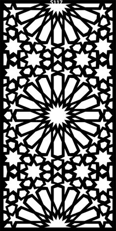 DXF CDR File For CNC Plasma Laser Cut Doors all design good quality and tested at cnc) Islamic Art Pattern, Arabic Pattern, Pattern Art, Art Patterns, Metal Tree Wall Art, Metal Art, Motifs Islamiques, Motif Arabesque, Decorative Screens