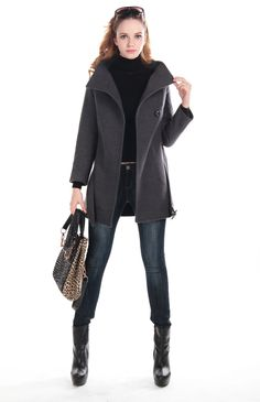 clssic womens wool coat  ,love it.