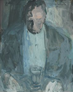 Man with wine glass - SOLD