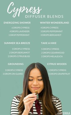 Cypress Diffuser Blends #EczemaEssentialOils