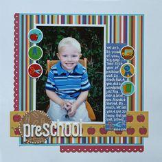 Preschool - Childhood Layout