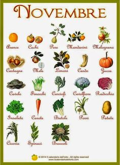 Briciole di Sapori           : Novembre... il calendario della natura