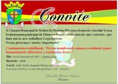 NONATO NOTÍCIAS: Sr. do Bonfim: Câmara inicia nesta quinta trabalho...