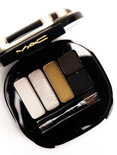 MAC Stroke of Midnight Smok Eyeshadow palette