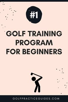 Golf tips for beginners. Learn more about this golf training program at GolfPracticeGuides.com. Click to get started. #golf