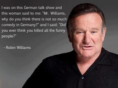 Robin Williams Gives Us Perhaps The Greatest Comments Ever. R.I.P.