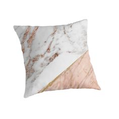 A stunning mix of rose gold veined white marble and gold veined red marble. • Also buy this artwork on home decor, apparel, stickers, and more.