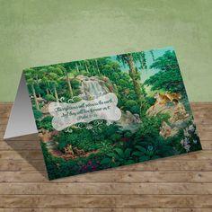 Scriptural Greeting Card - Paradise
