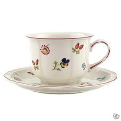 Petite Fleur porcelain cup and saucer set by Villeroy & Boch