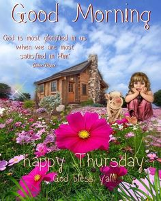 Good Morning Beautiful Gif, Good Morning Flowers, Good Morning Thursday, Good Morning Quotes, Friend Love Quotes, Friends In Love, Happy Fathers Day Message, Happy Thursday Quotes, Day For Night