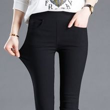 2774753f9a8 Spring Leggings Female Outerwear Thin Long Pant Black Pants Skinny Slimming Pencil  Pants Women Pants Leggings
