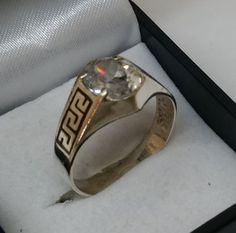 """17 6 mm Ring Silber schlicht Gravur """"Markus"""" SR939"""
