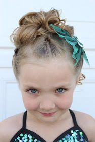 Fancy Meeting Ewe: Perfect Dance Recital Hair, Tutorial, Episode 2, Up-do