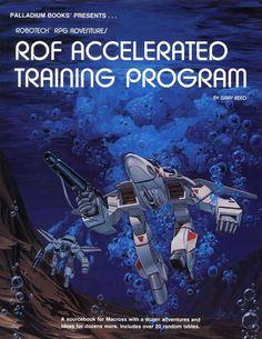 Robotech® RDF Accelerated Training Program, 1988 Edition - Palladium Books   Robotech RPG   DriveThruRPG.com