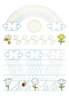 Worksheets For Kids, Activities For Kids, Crafts For Kids, Scissor Skills, Pre Writing, Sensory Play, Filet Crochet, Fine Motor, Montessori