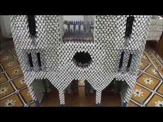 Basílica de Lujan - Origami 3D - YouTube