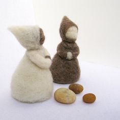 Two Forest Children by FeltForest on Etsy, $36.00