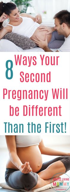 Your second pregnancy is surprisingly so much different than your first!  Here are 8 sometimes hilarious ways your second pregnancy will be so much different than the first time around.  I can SO relate to the 4th one!