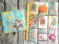 I have another pocket letter process video for you today! This time I made a fall/forest animal themed pocket letter. Pocket Letters, Forest Animals, Lettering, Fall, How To Make, Autumn, Calligraphy, Letters, Character