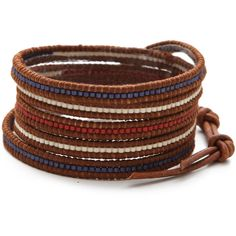 Chan Luu Beaded Wrap Bracelet - Polyvore