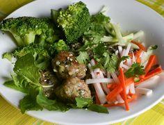 Vietnamese Chicken Meatballs | The Yum Yum Factor