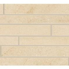 Urbanite Stone Stratus Listello Ceramic & Porcelain Listello Tile.