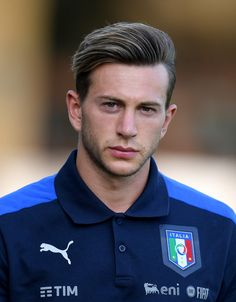 Federico Bernardeschi of Italy looks on during the training session at Coverciano on August 30, 2017 in Florence, Italy.
