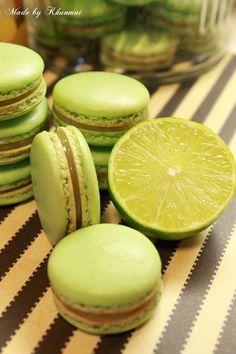 Lemon Macaroons, Honeydew, Tea Party, Lime, Fruit, Studio, Desserts, Ideas, Food