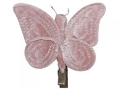 Rose Butterfly Hair Clip
