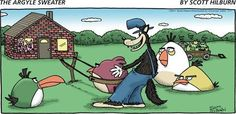 Angry Birds helping out the Fox.