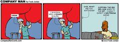 Company Man Comic: Clifford!