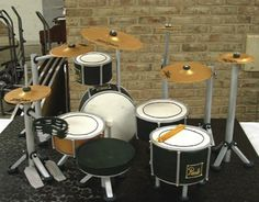 A Drum Set Groom's Cake