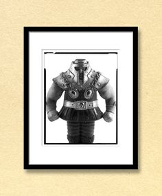 """Rammer"" Photo Giclee 8x10 inch Print. Giclee print of this Ramming Man toy photo. 8 by 10 inch image printed on archival paper. Print is unframed."