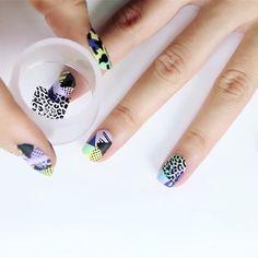 💕cute💕💚💛❤️💜💙 By @moyou_london Tag a friend! nails #nail #nailart #naillovers #nailswag #nailvine #instanails #instanail #nailpolish #naildesign #nailsoftheday #nailaddict #nailvideo #naildesign #prettynails #instanail #mynails