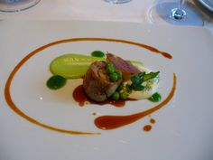 Lamb with peas & mint